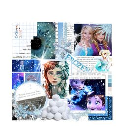 """Elsa Contest"" by abandoned-leftpolyvore ❤ liked on Polyvore featuring art"
