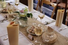 svatební výzdoba stolů hnědá - Hledat Googlem