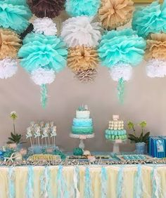 decor for a baby shower