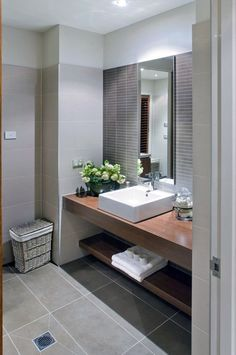 Contemporary Bathroom Cabinets Uk Modern Bathrooms Designs Pictures intended for sizing 736 X 1095 Contemporary Bathroom Cabinets - Modern bathrooms are Neutral Bathroom Tile, Brown Bathroom, Bathroom Colors, Small Bathroom, Bathroom Ideas, Bathroom Storage, Bathroom Gallery, Master Bathroom, Simple Bathroom Designs