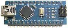 Модуль Совместимый с Arduino Nano v3.0 (CH340) на процессоре ATMEGA328P.