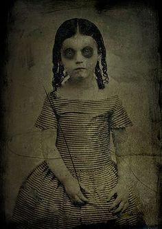 1860's - Myth of the Standing Postmortem Photo
