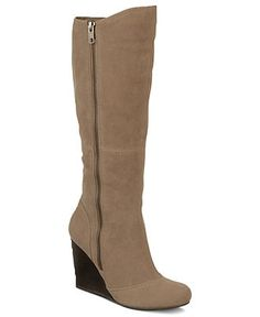 Fergalicious Shoes, Fantasy Tall Wedge Boots - Boots - Shoes - Macy's #vegan