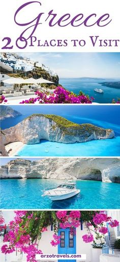 The most beautiful places to see in Greece. Find out which places to visit and what to do in Greece. Where to go in Greece I Best islands in Greece I