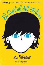 Aquest llibre va de un noi anmenat Julian el qual va a una escola on hi entre un noi amb una deformació facial. En Julian va convencera als nens de l'escola per fer-li bulling al nen. Algú confessa el que esta fent en Julian, de manera que l'expulse'n durant un temps. Els seus pares decideixen canviar-lo d'escola, Després l'avia d'en Julian el fa refleccionar sobre el que ha fet, per tant l'hi envia una carta al noi.