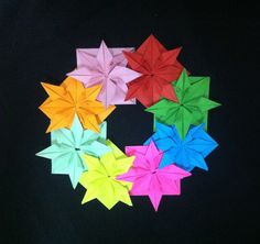 折り紙 クリスマスリース How To Make an Origami Christmas Wreath Tutorial