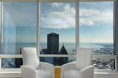 This view from the 74th floor of the Trump Tower could be yours | Chicago, IL