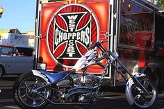 West Coast Choppers, West Coast Customs, Jesse James Motorcycles, Triumph Motorcycles, Custom Choppers, Custom Motorcycles, Custom Bikes, Chopper Motorcycle, Bobber Chopper