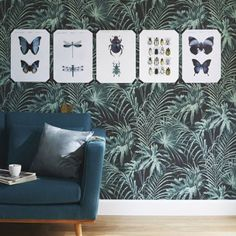 76 meilleures images du tableau papier peint homes home decor et living room. Black Bedroom Furniture Sets. Home Design Ideas