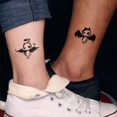 Couple Ankle Tattoos