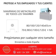 Mamparas para proteger del Coronavirus Shopping, I Will Protect You