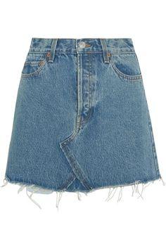 f6146925a3bf 7 Best Jean Mini Skirts images in 2016   Denim mini skirt, Denim ...