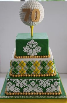 Golf Cakes for Men | Golf Girl's Diary: Top 10 Golf Cakes - Creative Confections That Hit ...