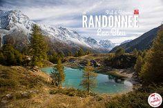 Découvrez ma jolie randonnée au Lac Bleu d'Arolla dans le Val d'Hérens en Suisse. Des paysages somptueux qui vont vous faire aimer la randonnée !