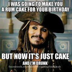Snort-snaughling with a hiccup! (Just remember it's Friday night here!!!) - Indeed, hahaha cake with a side of rum, sounds about right. <3