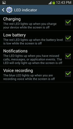 How To Use LED Indicator On Samsung Galaxy S4 - Galaxy S4