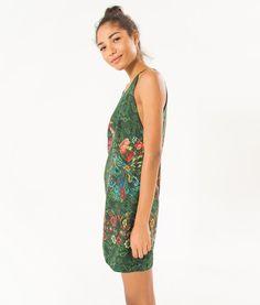 vestido curto pavao