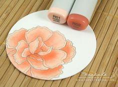 Copics on YOF: Carnations