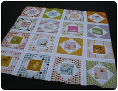Heather Ross fussy cut quilt | Canadian Abroad