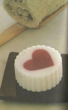 como hacer jabones de corazones para san valentin ~ Mimundomanual