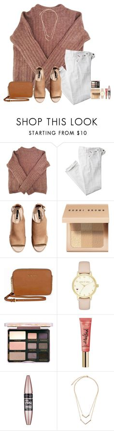 """""""I didn't know that I was starving till I tasted you!!!!"""" by amaya-leigh ❤ liked on Polyvore featuring Acne Studios, Polo Ralph Lauren, H&M, Bobbi Brown Cosmetics, Michael Kors, Kate Spade, Too Faced Cosmetics and Maybelline"""