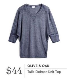 Olive & Oak Tullie Dolman Knit Top Try it today by visiting this link: stitchfix.com/referral/9050037