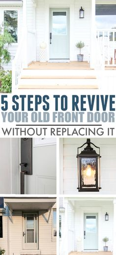 Five Simple Ways to Update a Front Door – The Creek Line House