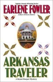 Arkansas Traveler - Benni Harper Bk 8 by Earlene Fowler *Free shipping* Hardcover $5.00