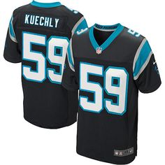 ad894092c Youth Nike NFL Carolina Panthers  59 Luke Kuechly Elite Team Color Black  Jersey – 50