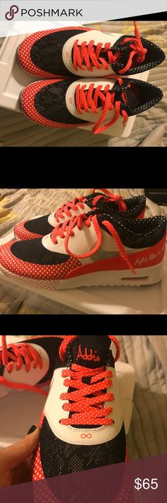 Nike Air Max Thea New Brand new Air max Thea by Addie Peterson- Fight like a girl!!  Size 8 Nike Shoes Sneakers