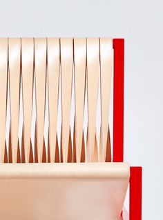 Dion Lee repurposes traditional tailoring techniques for leather furniture collection Tailoring Techniques, Lounge Chair Design, Pierre Frey, Leather Furniture, Art Furniture, Furniture Design, Dion Lee, Time Design, Weaving Techniques