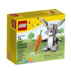 Lego bunny non chocolate easter gifts