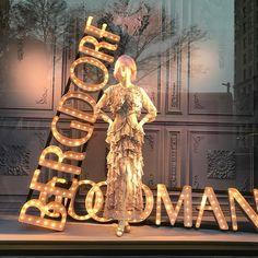 "BERGDORF GOODMAN, 5th Avenue, New york, ""She lit up the room wherever she go"", for Ellie Saab, pinned by Ton van der Veer"
