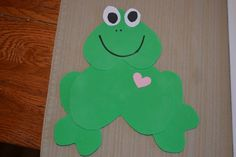 The Joys of Home Educating: Valentine Frog Craft & a Casserole