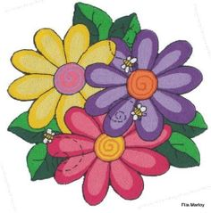 Mis Laminas para Decoupage Tree Clipart, Flower Clipart, Paint Party, Painting Tips, Rock Painting, Picture Borders, Painted Rocks, Mosaic Flowers, Rangoli Designs