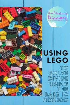 Teaching my daughter how to divide using the base 10 method became a lot easier when we started using Lego. Read how we did it here. #parenthack #mathshack #mathhack #homelearning