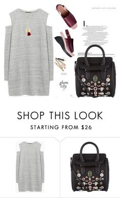 """Untitled #79"" by milenadm ❤ liked on Polyvore featuring Zara, Alexander McQueen, Madewell and Dolce&Gabbana"