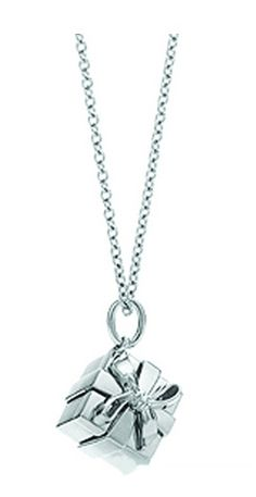 Tiffany Necklaces Jewelry Silver Gift Box Necklace This Tiffany Jewelry Product Features: Category: Tiffany & Co Necklaces Material: Sterling Silver Manufacturer: Tiffany And Co