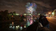Celebrating the Restored Oregon City ~ West Linn Bridge by victorvonsalza