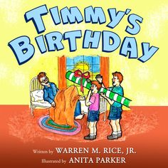 ANNOUNCEMENT  Great news! We are very excited to announce that the audiobook edition of Timmy's Birthday: A book about a redheaded boy and his kite is now available for everyone. This book is written by Warren M Rice, Jr, produced and narrated personally by Jay Mawhinney.