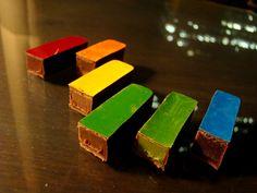 Sadaharu Aoki rainbow chocolate