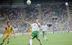 Bulgaria 1 Romania 0 in 1996 at St James Park. The drops nicely for Hristo Stoichkov to score after only 3 minutes in Group B at Euro '96.
