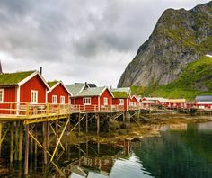 A tiny fishing village which can easily compete and win the contest for the most beautiful place on earth, Reine in Nordland county, Norway is blessed by nature. | 10 Secret European Little Towns You Must Visit