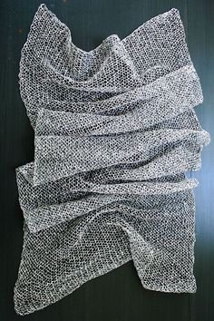 Whit's Knits: Open Air Wrap - The Purl Bee - What a simple pattern, but so beautiful, great for a beginner.