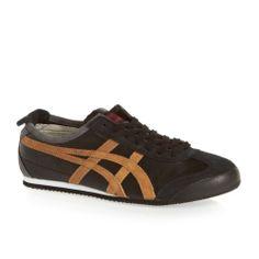 Onitsuka Tiger Mexico 66 Vin Le Mens Trainers Shoes - Black/Tan | eBay