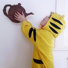 Your amazing World Book Day costumes - The Tiger Who Came to Tea - World Book Day Outfits, World Book Day Ideas, World Book Day Costumes, Book Costumes, Costume Ideas, World Cancer Day, Dress Up Boxes, Kids Dress Up, Book Week