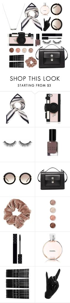 """""""Poly Power"""" by bechs ❤ liked on Polyvore featuring Kate Spade, Sephora Collection, Bobbi Brown Cosmetics, Miu Miu, Balenciaga, Topshop, Terre Mère, Gucci, Chanel and Monki"""