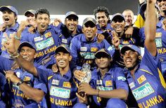 Sri Lanka wins the Asian Cricket Cup - 2008    Sri Lanka won the Asia Cup beating India by 100 runs in the final at the Karachi stadium in Pakistan a short while ago. Spinner Ajantha Mendis became the first bowler to take more than 5 wickets is an Asia Cup match. Sanath Jayasuriya scored a century for the Lankans.    The Sri Lankan team pose with the trophy, India v Sri Lanka, Asia Cup final, Karachi, July 6, 2008 AFP