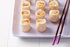 Avocado And Tuna Sushi Sandwiches Recipe - Taste.com.au