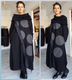 Beautiful Zedd Plus Taille 3 Lagenlook Stylish Long Dress w scarf orig.$295 #ZeddPlus #MaxiDress #AnyOccasion